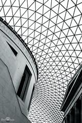 The Great Court (Pavlos Mavridis) Tags: blackandwhite bw london museum architecture canon court sigma britishmuseum 600d 1835mm