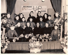 "SA-Belmont Corp Band - Good Friend Eleanor Menchey 3rd from left • <a style=""font-size:0.8em;"" href=""http://www.flickr.com/photos/42153737@N06/14574532655/"" target=""_blank"">View on Flickr</a>"