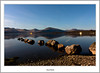 Milarochy Rocks in Moonlight (flatfoot471) Tags: night rural landscape scotland spring lochlomond stirlingshire millarochybay stirlinghsire