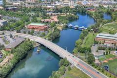 Trent Ave Bridge (WSDOT) Tags: bridge river spokane aerial helicopter kaa 2014 wsdot