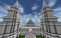 minecraft (Original Identification) Tags: temple big huge build epic mega survivalcraft minecraft