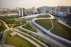 Dongdaemun Design Plaza (DDP) - Dongdaemun, South Korea (joshuacolclasure) Tags: nikon asia korea seoul southkorea dongdaemun rok ddp d7000 nikond7000 dongdaemundesignplaza