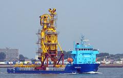 MERI (kees torn) Tags: offshore meri nieuwewaterweg portofrotterdam ihcmerwede zwaartransport meriaura
