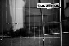 Gteborg 2 (furrycelt) Tags: street city blackandwhite monochrome fence gteborg 50mm construction alley nikon europe sweden gothenburg sigma d600 cramo sigma50mmf14 gothenburggteborg sigma50mmf14exdghsm lensblr photographersontumblr