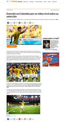 Colombia: El sueo de una nacin por conquistar la gloria. (Mauricio Moreno) Tags: brazil costa japan brasil de uruguay james coast football colombia juan soccer injury ivory mundial futbol japon rodriguez maracana cuadrado marfil lesion gullermo neymar worldcup2014