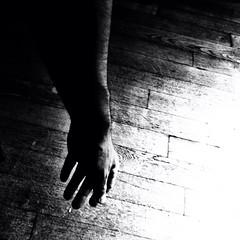 Mute. (Grf f the Pp [@Grfbd]) Tags: bw mono blackwhite hand artistcom iphone4 seebw
