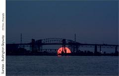 Sunrise – Burlington Skyway (jwvraets) Tags: sunrise dawn nikon hamilton gimp opensource nikkor70300 burlingtonskyway d7100