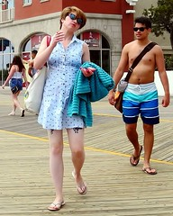smoke gets in your eyes (omoo) Tags: boy girl newjersey couple cigarette expressions streetscene atlanticcity boardwalk nosering bodyart barechest prettygirl atlanticcitynj cigarettesmoke tattooedgirl girlandboy goingtothebeach smokegetsinyoureyes girlwithcigarette dscn9619 boyinswimsuit