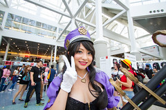 Up Close and Anime Expo (Greg P Photography (CoolGuyGreg)) Tags: portrait distortion anime canon lens photography angle expo wide 2014