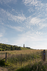 Cirrocumulus Fence Friday (s0ulsurfing) Tags: park uk summer england holiday english tourism june clouds fence island dof tourist isleofwight gb isle wight cirrocumulus iow sandhills bembridge 6d 2014 hff whitecliffbay culverdown s0ulsurfing staycation eastwight theyarboroughmonument