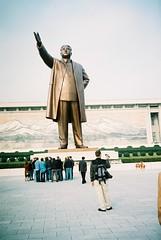 2005-10 DPRK 206 statue of Kim Il Sung in Pyongyang (stormsewer) Tags: northkorea pyongyang dprk kimilsung