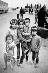 The stories of the Syrian refugees... (Giulio Magnifico) Tags: life girl smile composition turkey children lost happy eyes war child power expression refugees muslim homeless border culture streetphotography streetportrait sharp desperate syria essence reportage genuine halep kilis photoreportage nikond800e sigma35mmf14dghsm savealeppo passionshots