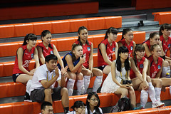 Altynbekova Sabina 艾媞博柯娃莎賓娜 (Steven Weng) Tags: player teen volleyball taipei kazakh 2014