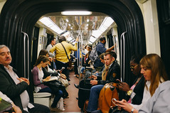 Paris (heipei) Tags: vacation paris france subway de frankreich metro urlaub ile ubahn
