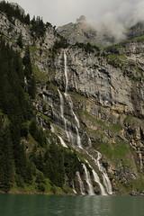 Wasserfall - Waterfall eines Bergbach ( Creek - Bach ) am Oeschinensee ( Bergsee - See - Lac - Lake ) oberhalb von Kandersteg im Berner Oberland im Kanton Bern in der Schweiz (chrchr_75) Tags: lake lago schweiz switzerland see waterfall suisse wasserfall swiss lac slap juli christoph svizzera bergsee cascade berner cascada berneroberland  oberland 2014  jrvi waterval  suissa  oeschinensee s vattenfall vodopd chrigu wodospad vandfald 1407 kantonbern alpensee chrchr hurni seeli chrchr75 chriguhurni bergseeli chriguhurnibluemailch albumwasserfllewaterfallsderschweiz albumbergseenimkantonbern juli2014 albumwasserflleimkantonbern hurni140731 albumoeschinensee