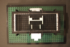 interior plan view (d2hiriyuu) Tags: chicago glass architecture modern buildings hall illinois technology lego steel famous style s institute architect r iit crown van der ludwig mies archi rohe eurobricks