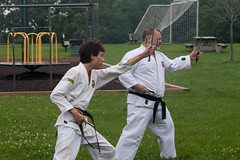 mike picnic martialarts karate kata sai eureka kobudo oliveri blackbelt shodan aok shuriryu academyofokinawankarate geoffreythompson eurekadojo sanchosai