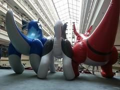 1377264332.lisko_20130823_152041573487302 (aaronwhipya) Tags: blue red orange husky dragon aaron gray inflatable latex pvc inflatables inflate inflation guilmon eurofurence ef19 aaron8181