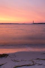 Burning sky (reclaimednj) Tags: lighthouse beach sunrise island newjersey unitedstates nj lbi longbeachisland barnegatlighthousestatepark barnegatlighthouse 2014 longbeachtownship canon1635l canon6d