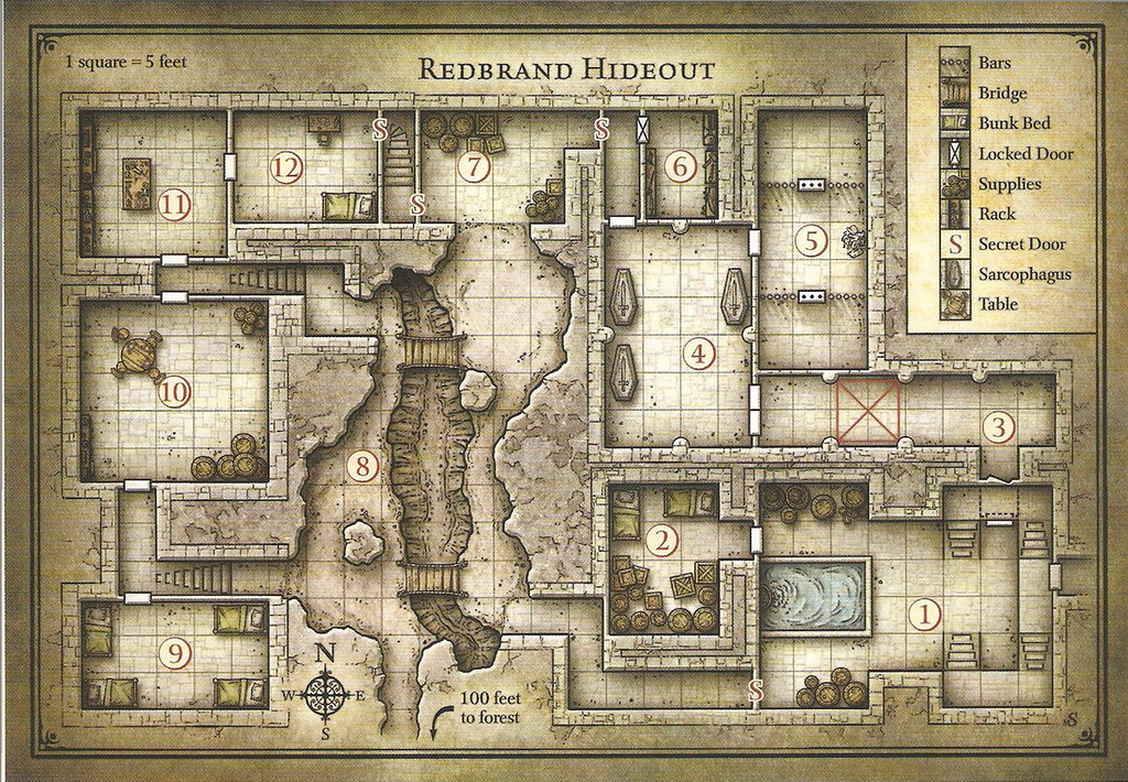 graphic about Cragmaw Hideout Printable Map identified as The Worlds highest just lately printed images of phandelver