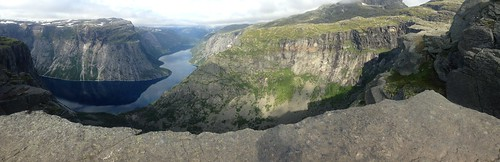 View from Trolltunga