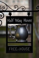 Half Way House (<p&p>) Tags: city uk house sign way scotland pub edinburgh bokeh half publichouse halfwayhouse freehouse