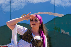 Buck-602 (Bret Buck) Tags: pirates swordfighting fighting swords gypsy catfight gypsies bellydancers boompirates washingtonmidsummerrenaissancefaire2014 hermajestystournamentandjoust