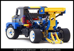 PICT03 (2LegoOrNot2Lego) Tags: mike truck drag star us power suspension ryan super front racing turbo independent western mack charger banks peterbilt kenworth axle freightliner