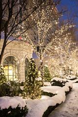 Christmas light downtown (Christmas World) Tags: lighting christmas light house holiday snow tree led mo event incandescent slo c9 c7 christmaslitescom