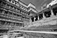 Queen's Step Well_4 (mehtasunil) Tags: fujifilm patan gujarat stepwell indiapictures xe1 heritagecity