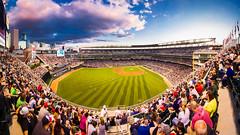 Twins Baseball Before the Fall (Icedavis) Tags: field minnesota skyline major twins downtown baseball target mn league mlb