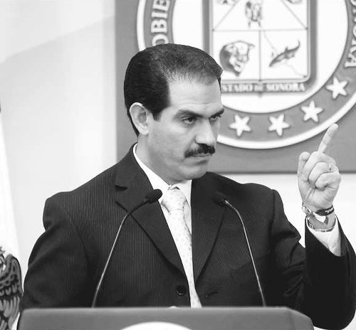 Padrés en conferencia de prensa informó que el presupuesto registra un pasivo de 78 millones de pesos