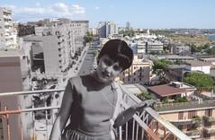 Ritorni (Loulou, la petite aubergine) Tags: old photos mother past juxtaposing