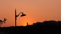 Paris-Coucher de soleil / Sunset (Pierre Delore) Tags: sunset paris soleil coucher