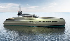 I.C. YACHT   55' HT (Federico Fiorentino Yacht Design) Tags: sexy hardtop boat open yacht chase luxury motoryacht tender boatdesign motoscafo yachtdesign yachttender federicofiorentino icyacht
