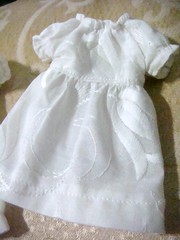 Blythe embroidered white dress