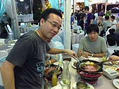 2014-09-25 18.14.11 (pang yu liu) Tags: dinner work yahoo search team bbq event 09 vic sep outing  2014        pyliu