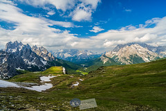 dolomites... (A.K_Photography Hamburg) Tags: italien schnee sky italy cloud sun lake snow mountains alps nature colors berg clouds zeiss landscape lago lights frozen nationalpark nikon rocks hiking plateau sommer wolken peak hike unesco berge climbing highland alpen gletscher bergsee sonne unescoworldheritage dolomites belluno dolomiti südtirol naturpark hochplateau dolomiten misurina provinz trecime dreizinnen sexten trecimedilavaredo lagodimisurina venetien sextenerdolomiten kalkalpen europeanalps d700 auronzohütte weltnaturerbe zf2 auronzodicadore gebirgsmassiv nikond700 unescoworldnaturalheritage südlichekalkalpen distagont2821 naturparkdreizinnen parconaturaletrecime zeissdistagont2821zf2 unescoweltnaturerbedolomiten provinzbelluno provinzsüdtirol refauronzo2320m zinnenplateau