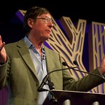 Max Hastings spoke about World War One