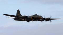 """B-17 Flying Fortress """"Sally B"""" (James Walley) Tags: b17 duxford boeing iwm sallyb wrightcyclone"""