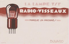 VISSEAUX Radio Buvard - Ink Blotter (France 1958) (MarkAmsterdam) Tags: old classic sign metal museum radio vintage advertising design early tv portable colorful fifties arm tsf mark ad tube battery engineering pickup retro advertisement collection plastic equipment deck tape changer electronics era record handheld sheet catalog booklet collectible portfolio recorder eames sales electrical atomic brochure console folder tone forties fernseher sixties transistor phono phonograph dealer cartridge carradio fashioned transistorradio tuberadio pocketradio 50s 60s musiktruhe tableradio magnetophon plaskon 40s kitchenradio meijster markmeijster markamsterdam coatradio tovertoom