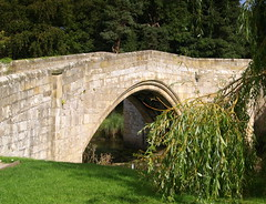 The Bridge at Warkworth (Tony Worrall) Tags: county old uk bridge england building english history church town photo place image stones country  north scenic visit scene location medieval tony historic northumberland capture quaint past built warkworth olden 2014 worrall 2014tonyworrall