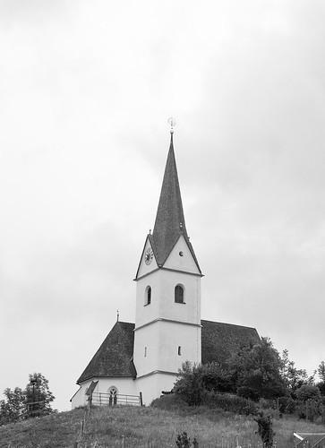 Filialkirche Sankt Anna am Zackel in Reifnitz, Austria