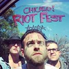 Riot Fest Van Window Photo