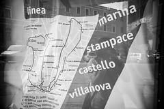 Autoritratto criptato #7 (Cristiano G. Musa Fotografia) Tags: auto sardegna street bw selfportrait canon sardinia bn persone autoritratto mappa ritratto cagliari biancoenero citt riflesso 2014 lineabus httpswwwfacebookcommgcphotographer mgcphoto