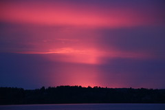 IMG_0305 (l8l) Tags: sunset sun sweden värmland fryken