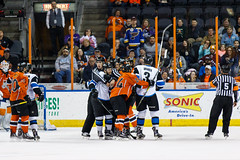 "Missouri Mavericks vs. Wichita Thunder, February 7, 2017, Silverstein Eye Centers Arena, Independence, Missouri.  Photo: John Howe / Howe Creative Photography • <a style=""font-size:0.8em;"" href=""http://www.flickr.com/photos/134016632@N02/32422298660/"" target=""_blank"">View on Flickr</a>"