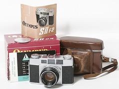 Olympus 35S II f2.8 Variation 2 (1957 - 1959) ramgefinder film camera 116727 (THE OLYMPUS CAMERAS COLLECTOR) Tags: olympus 35s ii f28 variation 2 1957 1959 rangefinder film camera