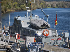 Cabo Fradera (Pepe Fernández) Tags: patrullera buque lancha patrulla puesto pantalan