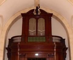 Saint-Vincent-de-Paul, Landes: église Saint-Vincent-de-Paul du Berceau. (Marie-Hélène Cingal) Tags: france sudouest aquitaine nouvelleaquitaine landes 40 saintvincentdepaul leberceau orgues organ
